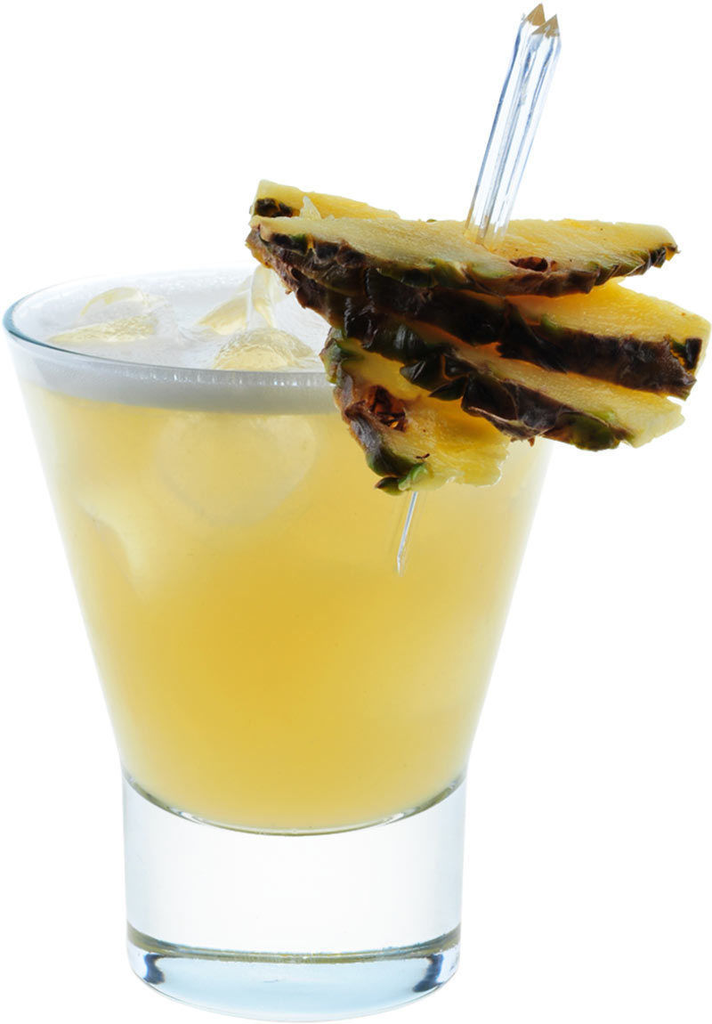 How to Make the Whisky and Pineapple Juice